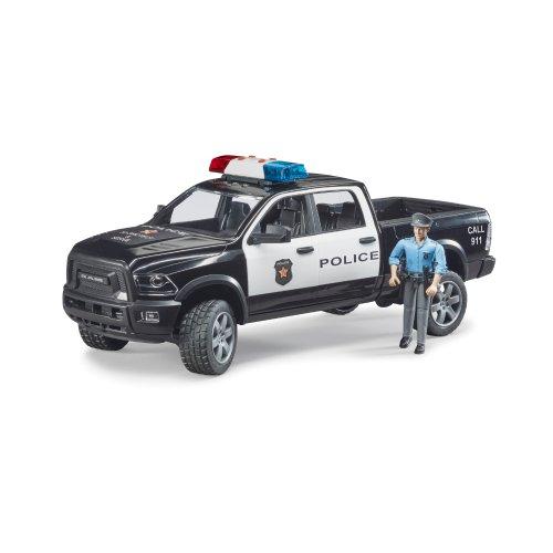 Bruder Αστυνομικό Φορτηγό 4x4 RAM 2500 με Αστυνομικό