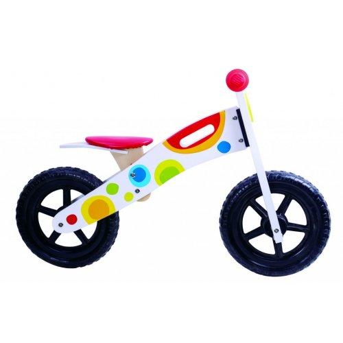 Tooky Toy Ξύλινο Ποδήλατο ισορροπίας