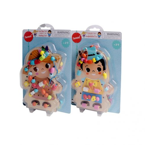 iwood  Party Girl 2 in 1 Figure Beads
