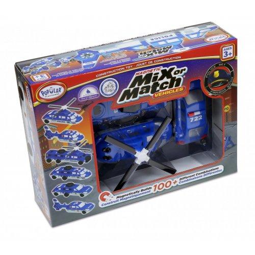Popular Μαγνητικά Αστυνομικά Οχήματα MIX OR MATCH