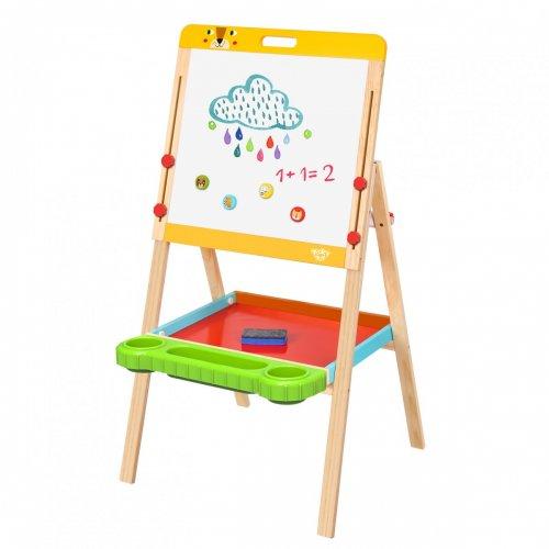 Tooky Toy Πίνακας-Καβαλέτο Διπλής όψης