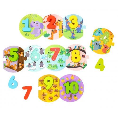 Tooky Toy Παζλ- Αριθμοί