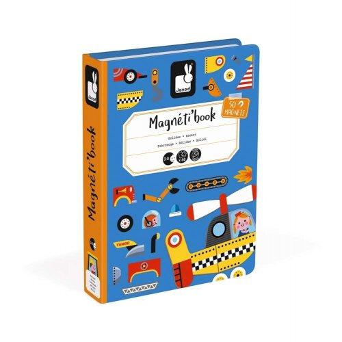 Janod Μαγνητικό Βιβλίο - Οχήματα