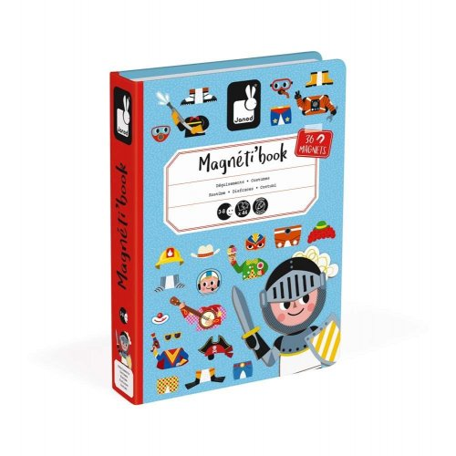 Janod Μαγνητικό Βιβλίο - Αγορίστικα Ρούχα