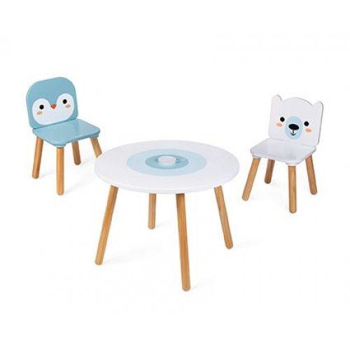 Janod  Σετ τραπέζι και 2 καρέκλες