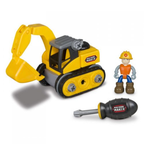 "Nikko Κατασκευή Εκσκαφέα Machine Maker – Excavator (8""/20cm)"
