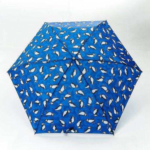 Eco Chic Puffin Mini Umbrella