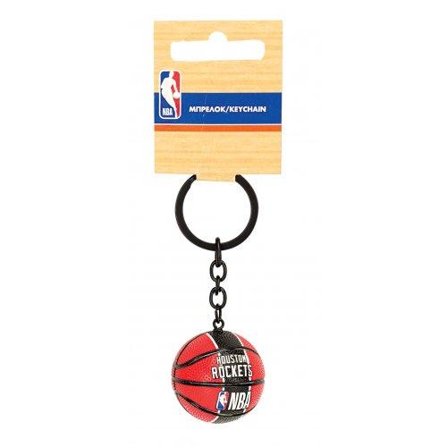 NBA Μπρελόκ 3D μπάλα Huston Rockets