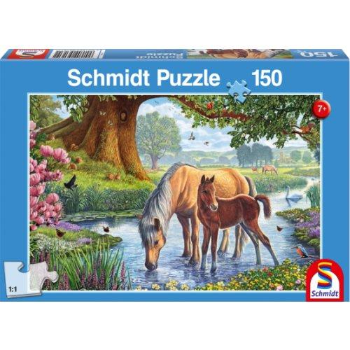 Schmidt  Παζλ  Άλογα 150 τεμ.