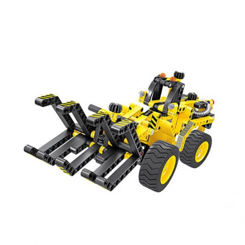 Mechanical Master 2 in 1 Construction Timber Grab & Dune Buggy – 301pcs.