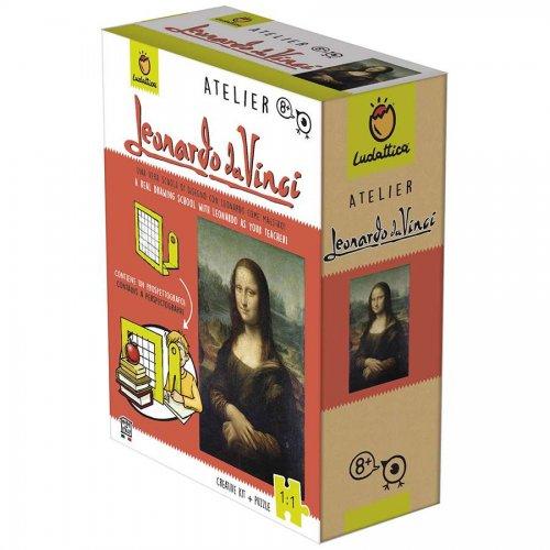 Ludattica Παζλ Ατελιέ Da Vinci Μόνα Λίζα 252 τεμ.