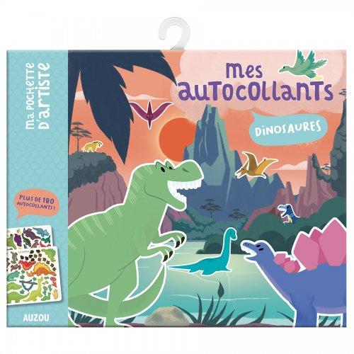 Auzou Τα αυτοκόλλητα μου Δεινόσαυροι