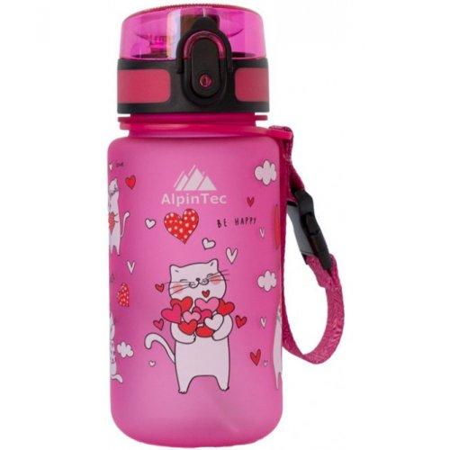 AlpinTec Παγούρι Tritan 350ml  Pink Cats