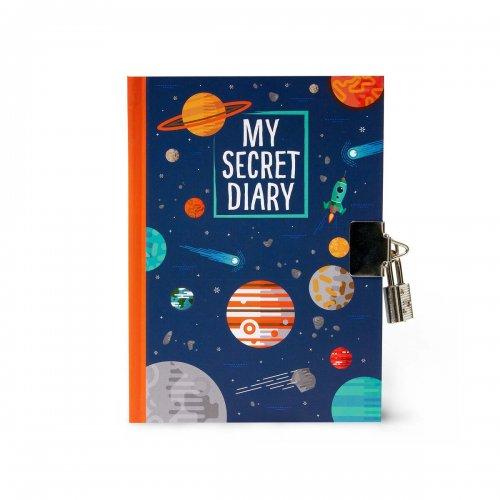 Legami Σημειωματάριο με Μεταλλική Κλειδαριά My secret diary Planets