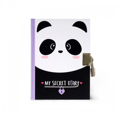 Legami Σημειωματάριο με Μεταλλική Κλειδαριά My secret diary Panda