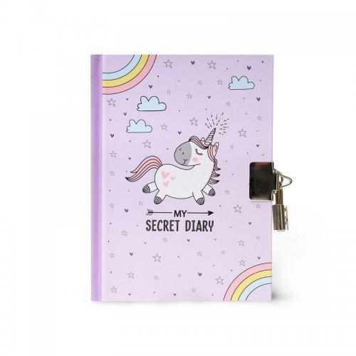 Legami Σημειωματάριο με Μεταλλική Κλειδαριά My secret diary Unicorn