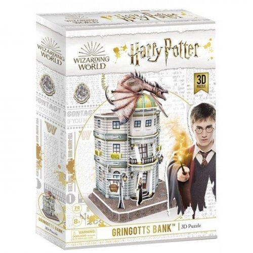 Cubic Fun 3D Παζλ Harry Potter Diagon Alley–Gringotts Bank 74 τεμ.