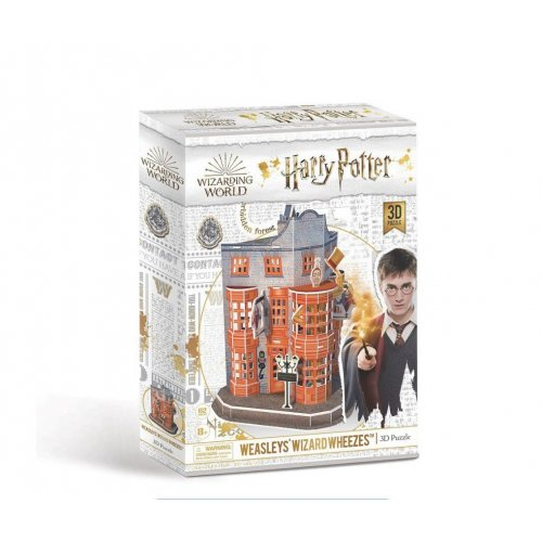 Cubic Fun 3D Παζλ Harry Potter Diagon Alley–Weasleys' Wizard Wheezes 62 τεμ.
