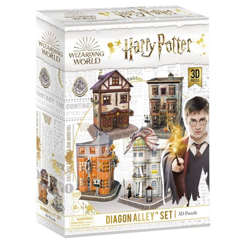 Cubic Fun 3D Παζλ Harry Potter Diagon Alley (4 in 1)  274 τεμ.
