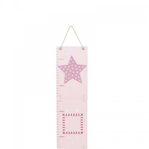 Jabadabado Αναστημόμετρο ροζ Aστέρι