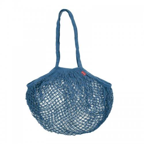 Legami Πλεχτή Βαμβακερή Τσάντα Μπλε