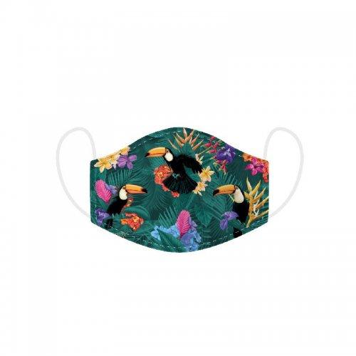 Puckator Μάσκα προστασίας Toucan Party Reusable - Large
