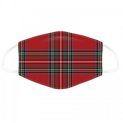 Puckator Μάσκα προστασίας Red Tartan - Large