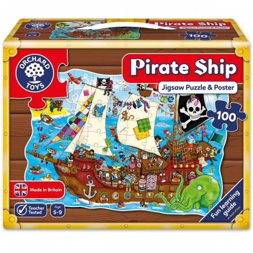 Orchard Toys Πειρατικό καράβι Jigsaw Puzzle 100 τεμ.