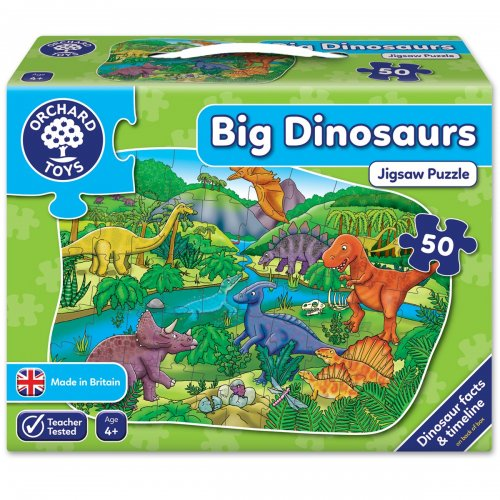 Orchard Toys Δεινόσαυροι Jigsaw Puzzle 50 τεμ.