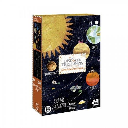 Londji Παζλ  Ανακαλύψτε τους Πλανήτες 200 τεμ.