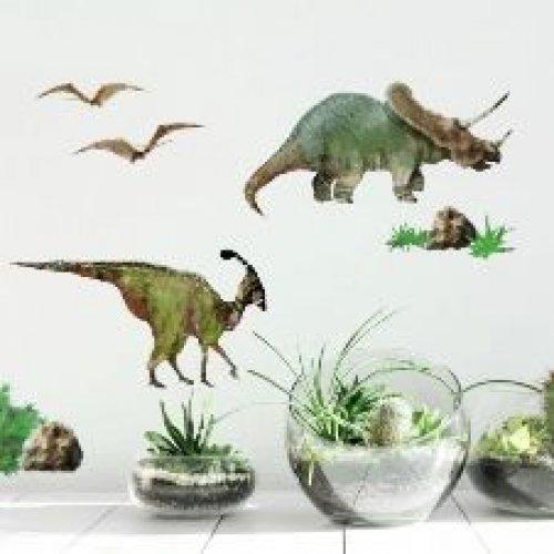 RoomMates Αυτοκόλλητα τοίχου Δεινόσαυροι