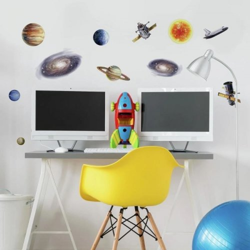 RoomMates Αυτοκόλλητα τοίχου Διαπλανητικό ταξίδι